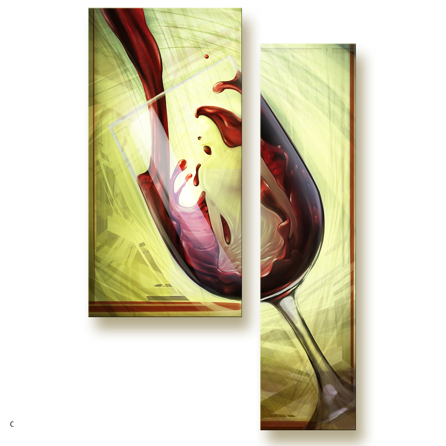 Do you see the Woman Inside? Women and Wine - Taste 1 - by Ed Myers